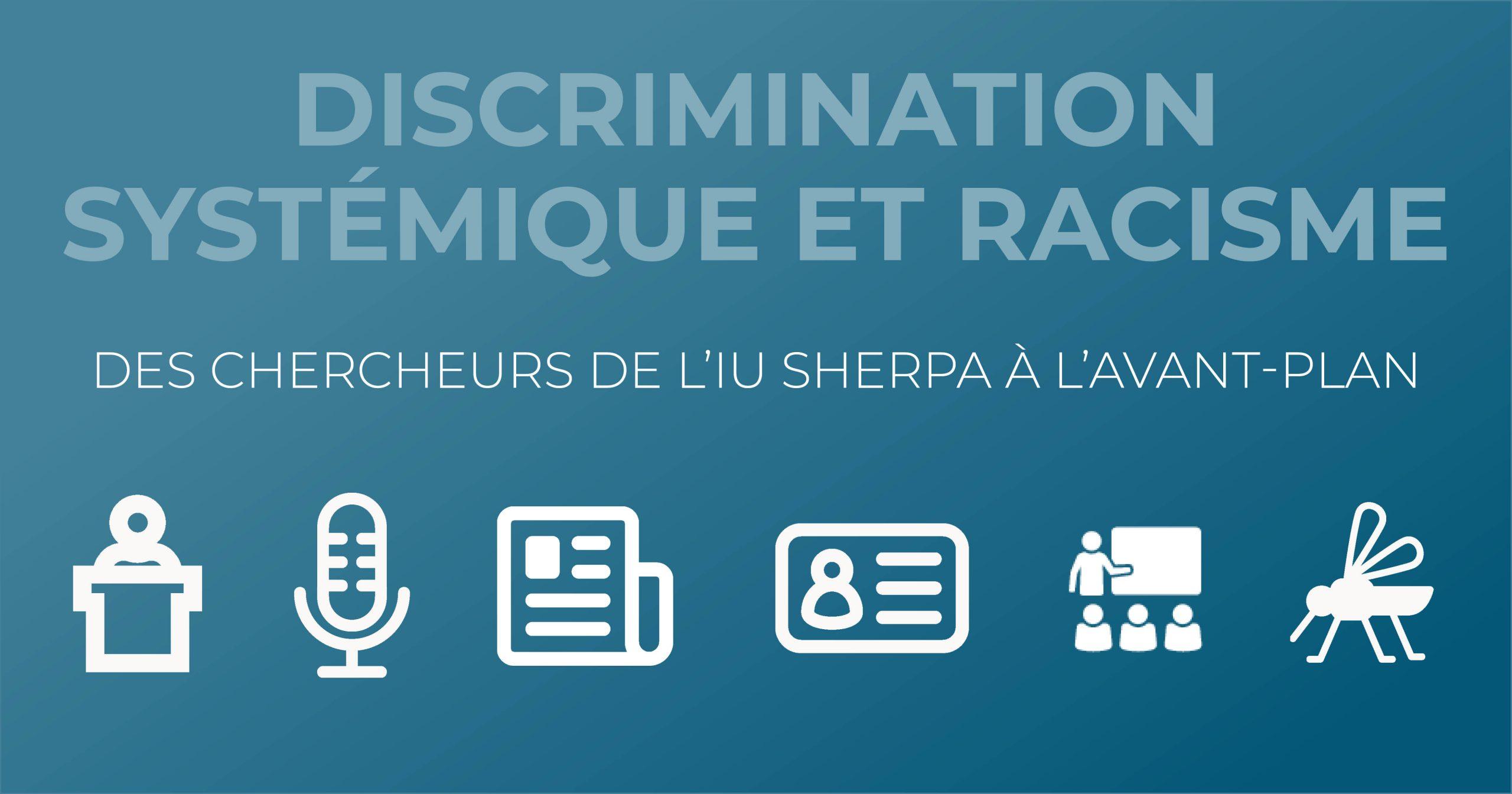 Discrimination systémique et racisme. Des chercheurs de l'IUY SHERPA à l'avant-plan