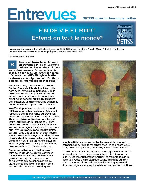 couverture de ce numéro - tableau de Paul Klee, Le ballon rouge